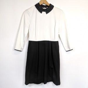 Maison Jules 3/4 sleeve dress